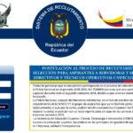 Reclutamiento Policía Nacional