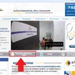 Portal web SUPA