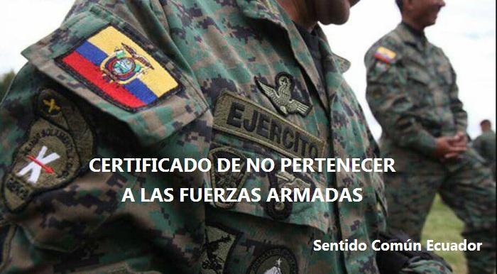 Fuerzas Armadas Ecuador